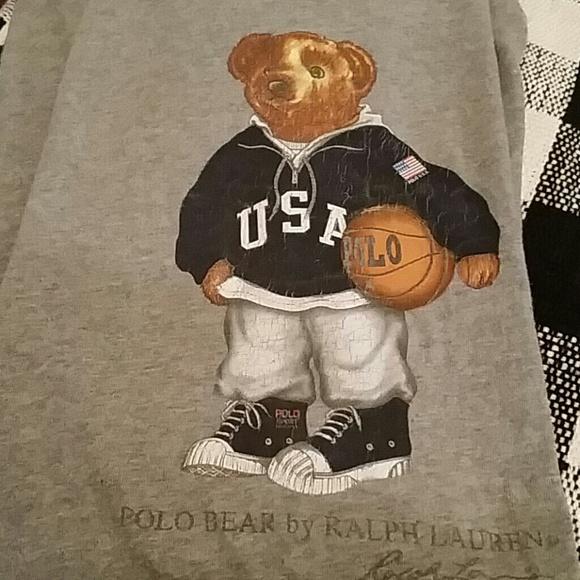 b1e764c22 Polo by Ralph Lauren Shirts | Polo Ralph Lauren Usa Bear Tee Shirt ...
